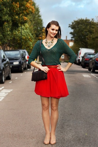 Hoss Intropia and skater skirt