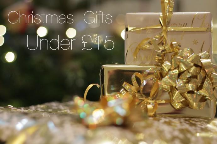 ChristmasGiftsUnder£15