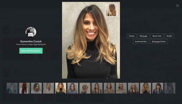 HAIRCVT - Women's Hairtyle Portfolio