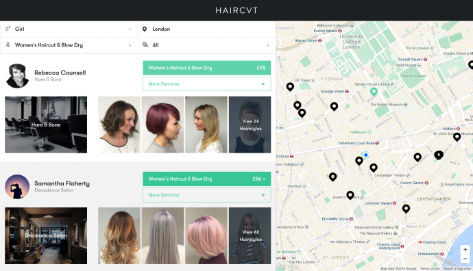 HAIRCVT - Women's Search