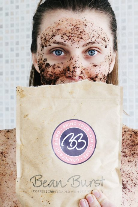 Bean Burst Coffee Scrub - Social Beautify