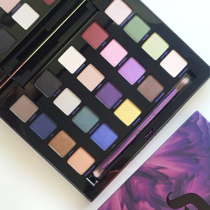 Urban Decay XX Vice Ltd Reloaded Palette eyeshadow colours