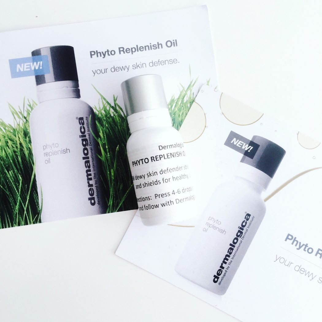 Dermalogica Phyto Replenish Oil bottle