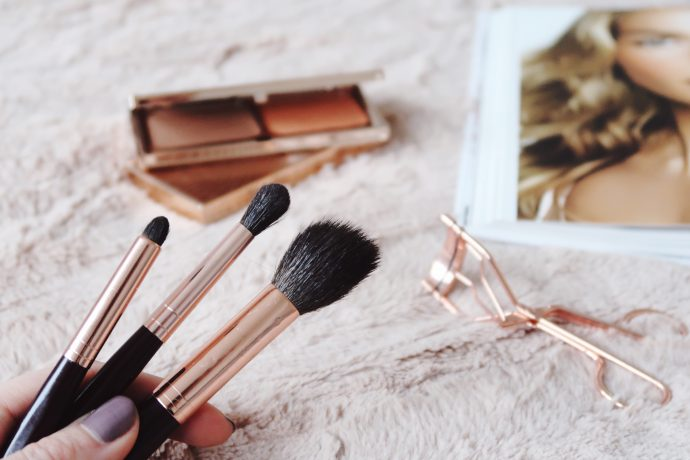 Top three makeup brushes from Charlotte Tilbury