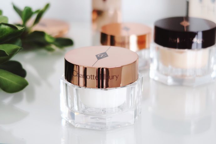 Pot of Magic cream from Charlotte Tilbury, Magic Night and Eye Rescue #charlotteTilbury
