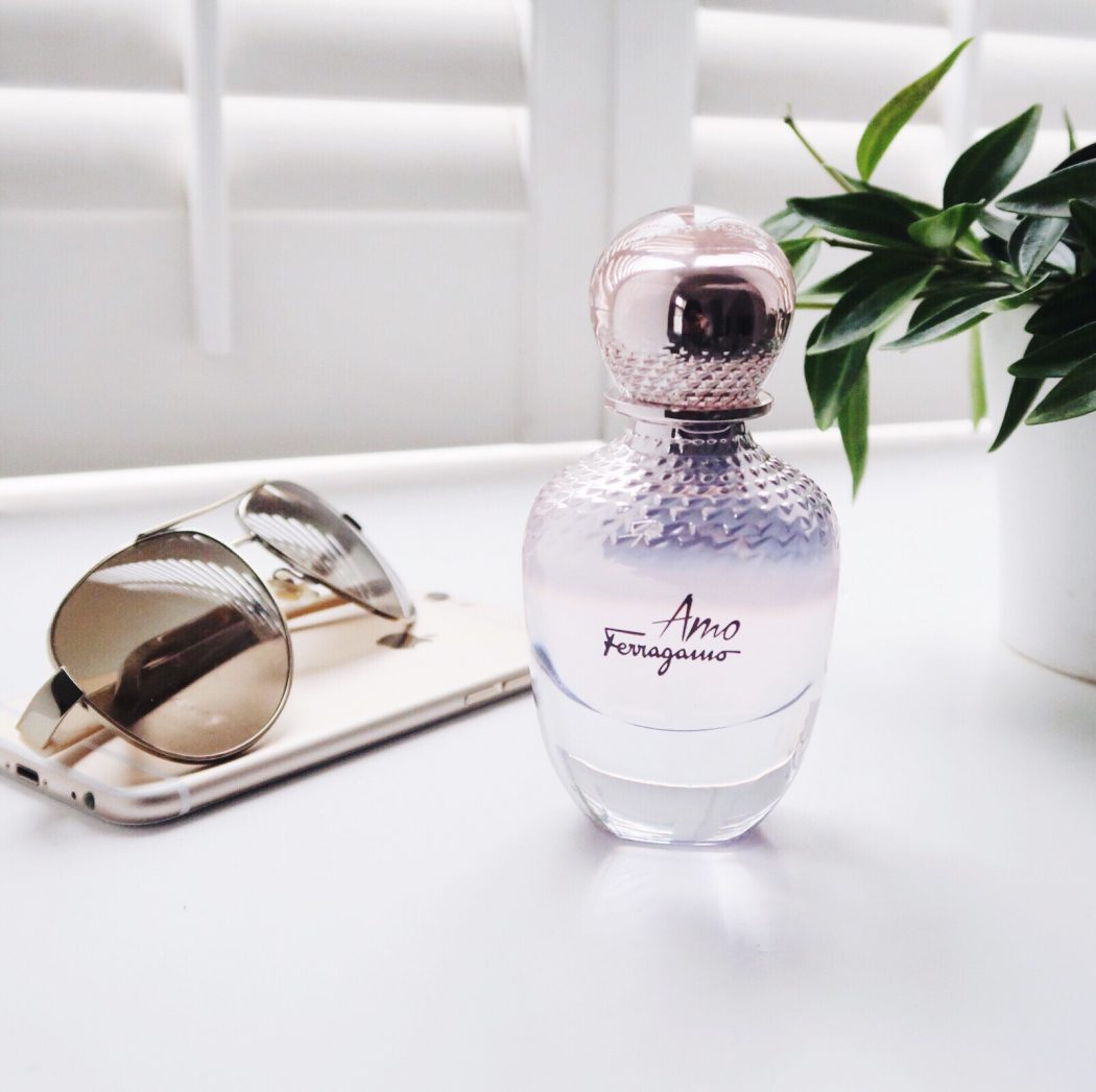 Amo Ferragamo fragrance bottle