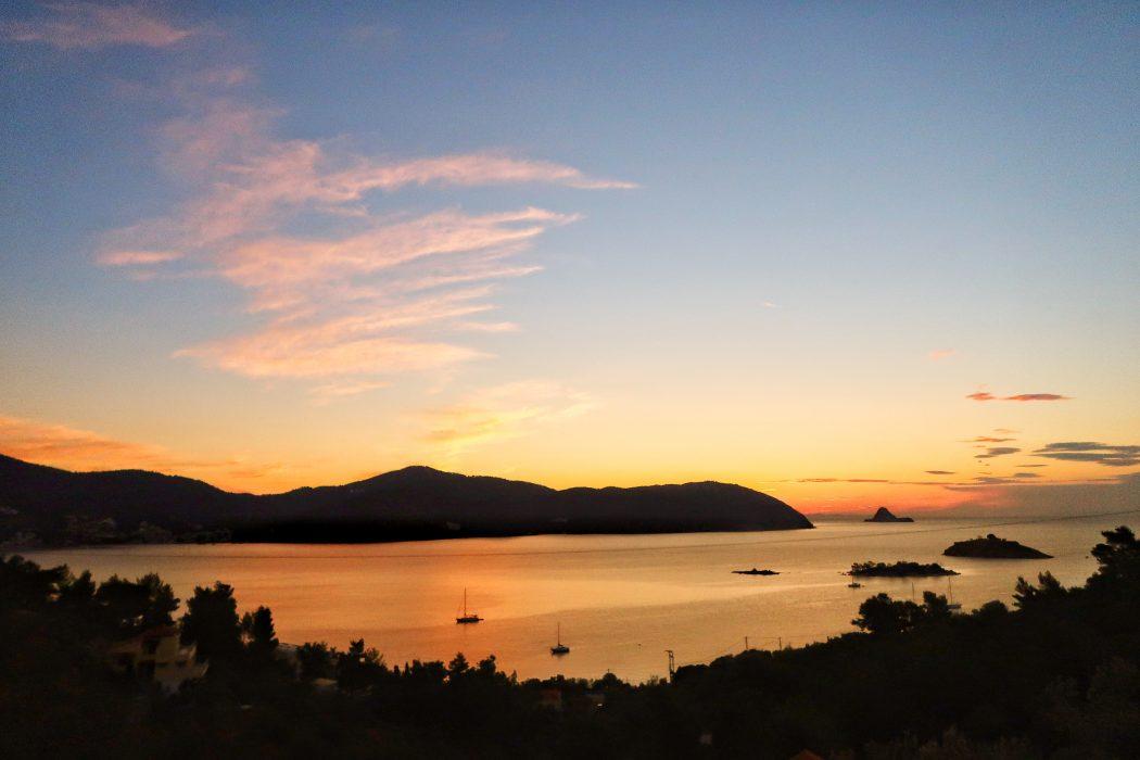 Sunrise from Live-Bio, Greece, Porors
