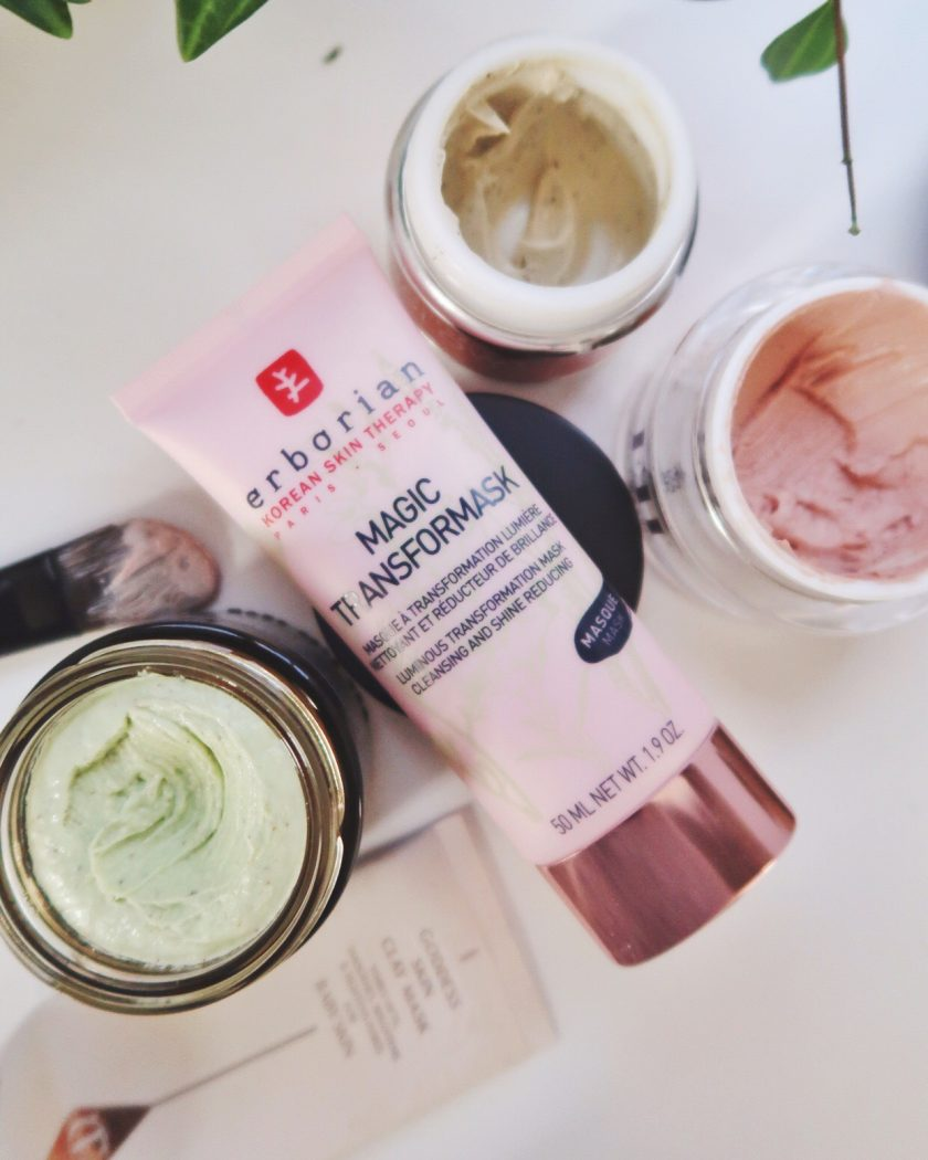 A set of face mask for multitasking, #vanities #multimasking #pinkclay #magictransformask