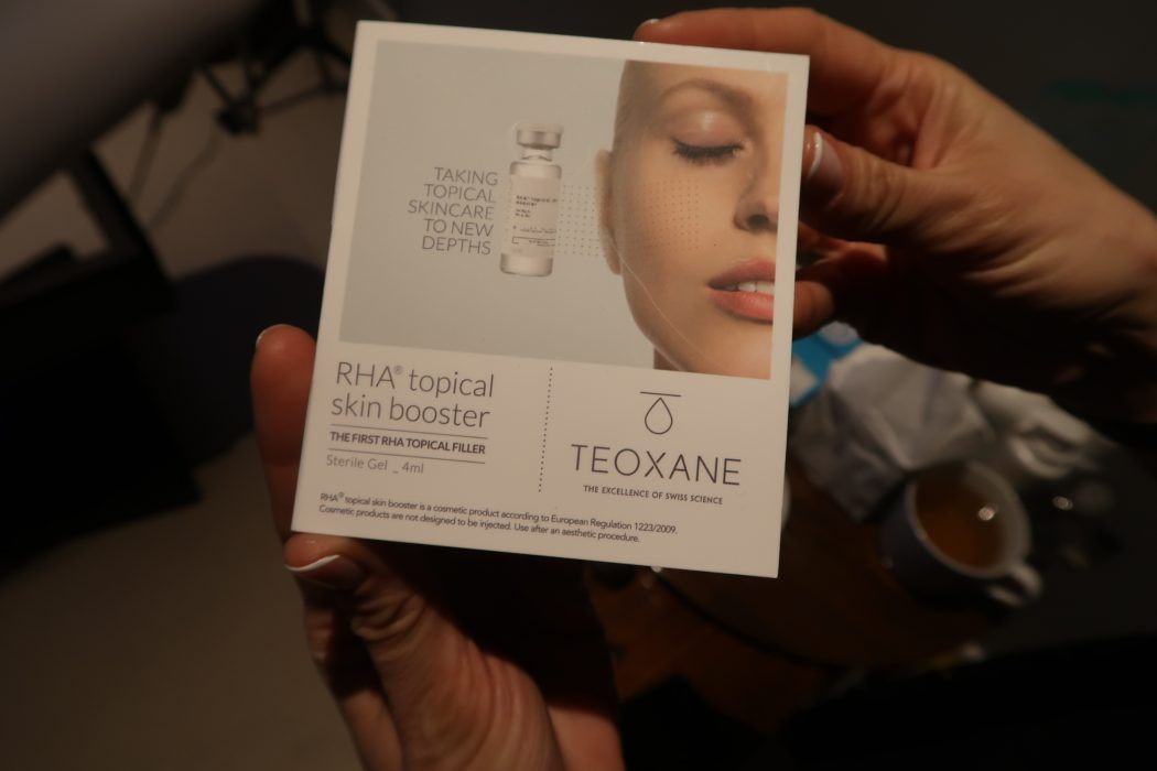 Chemical peel box