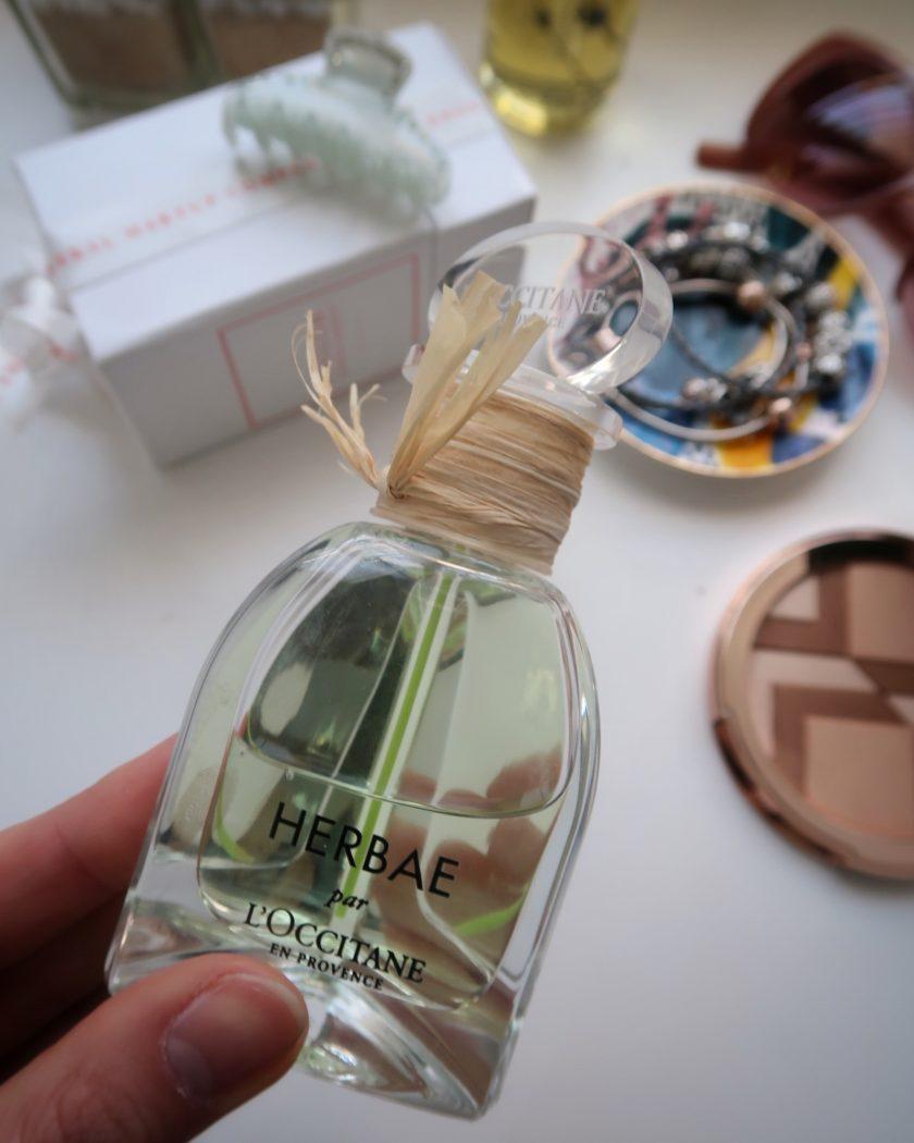 Herbae pur L'Occitane en provence bottle.