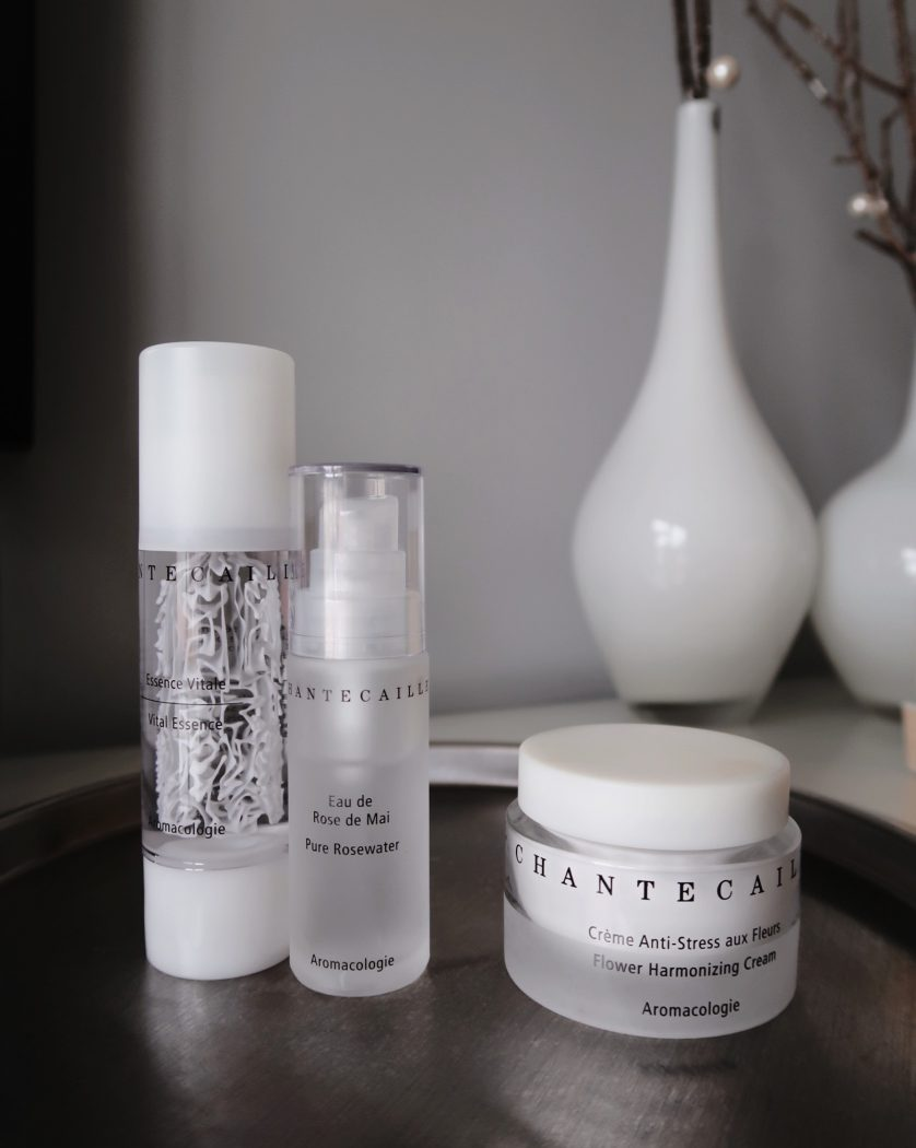 Chantecaille Flower Hyrmonazing Cream. Winter skincare routine.