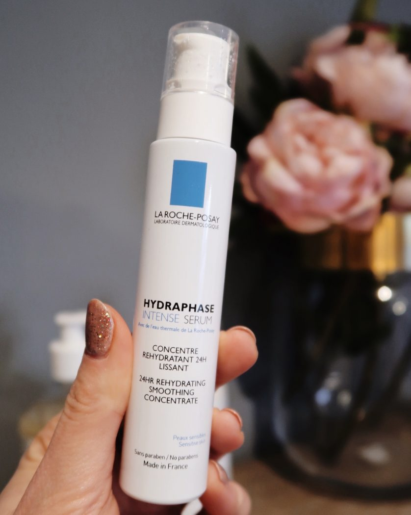 La Roche Pasay Hydraphase Intense Serum as an add on to post-swimming skincare routine.