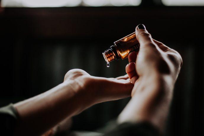 Vitamin C in skincare.